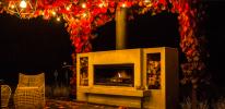 Parasol, palenisko czy biokominek - czym dogrzać taras jesienią i zimą?
