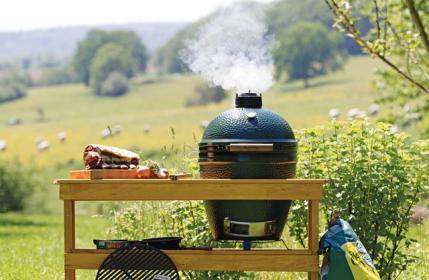 Kamado styl w grillowaniu i gotowaniu