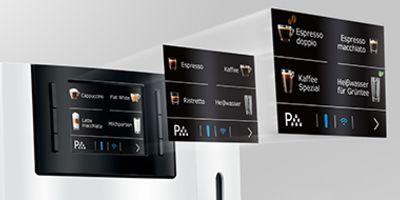 Za naciśnięciem jednego przycisku ekspres przyrządza łącznie 15 różnych specjałów.